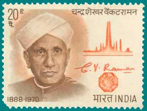 Image result for c v raman